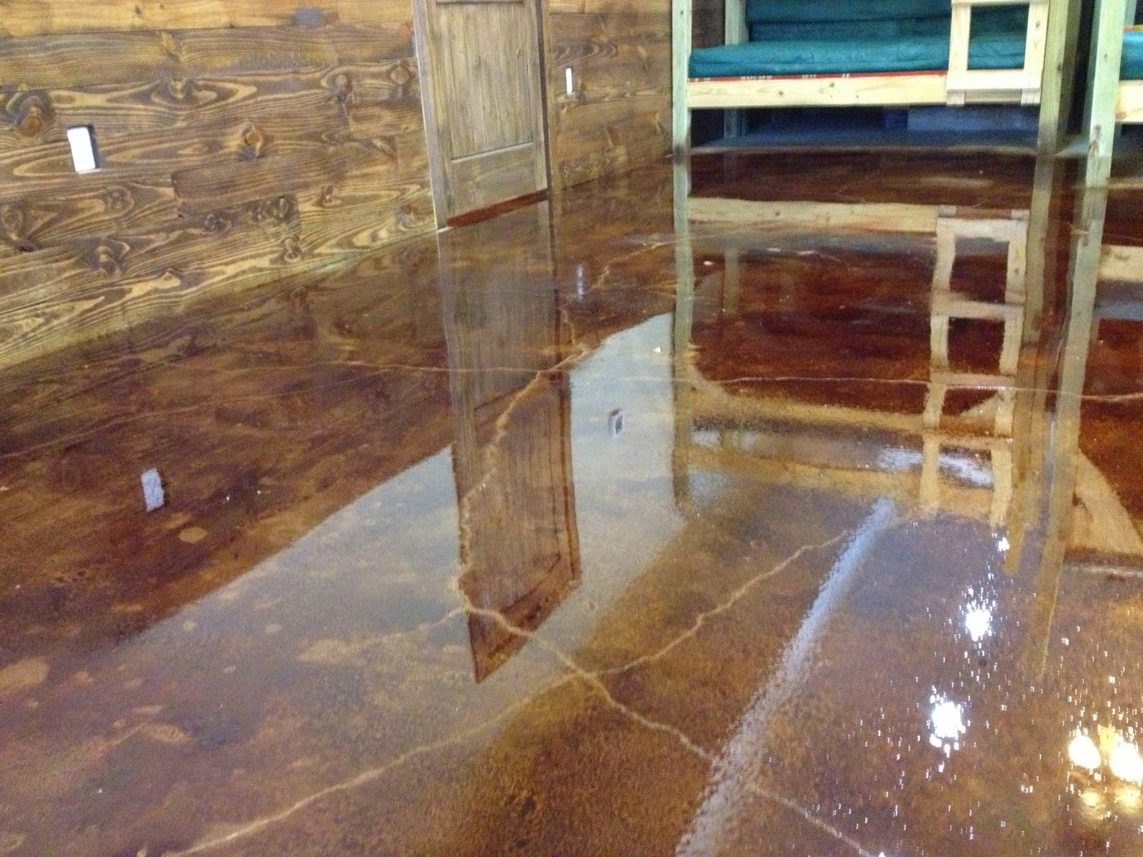 How To Stain Concrete - 4 Simple Steps