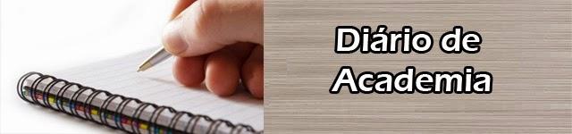 diario de academia como organizar seus exercios alimentação e sono