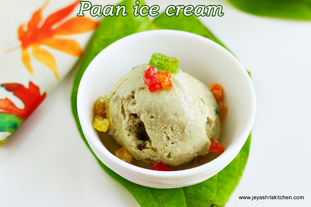 paan ice cream