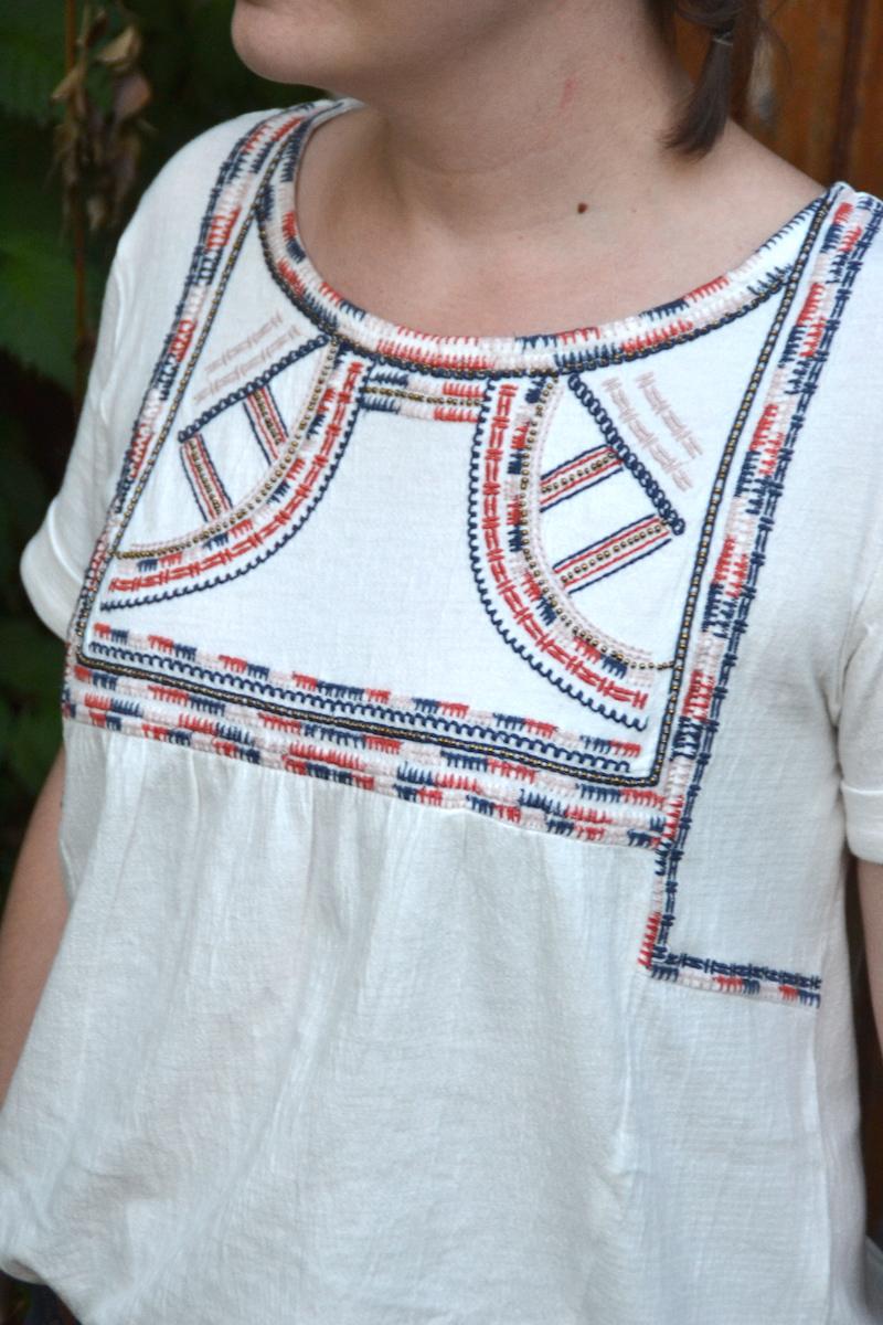blouse ethnique Promod