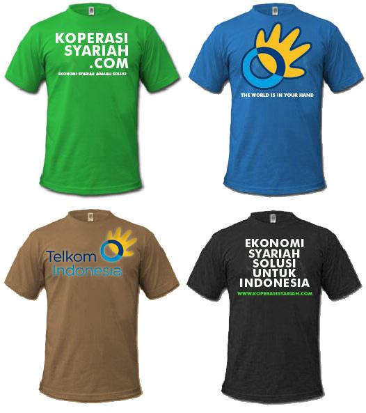 Java Digital Printing: Sablon Aneka Kaos Murah