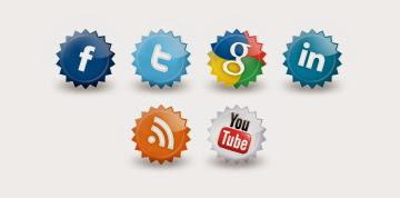 Cara Membuat Tombol Sosial Media Berputar