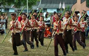 sejarah kepramukaan di Indonesia dan di Dunia