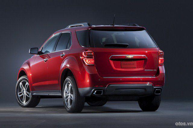 Xe Honda CRV 2015 đối đầu Chevrolet Equinox