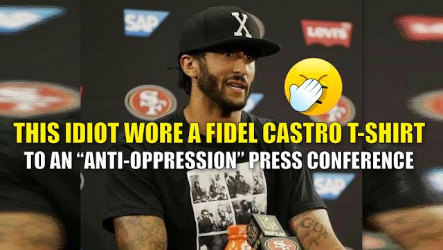 El meme de la conferencia de prensa de Colin Kaepernick