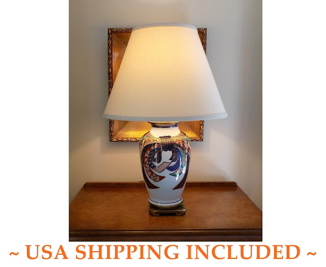 1960s Chinoiserie Table Lamp by Paul Hanson