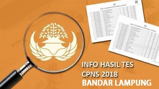 Pemkot Bandar Lampung Umumkan 429 CPNS Lolos Seleksi