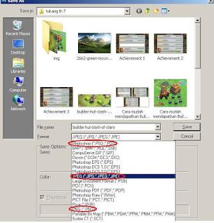 Membuat dan Menyimpan Dokumen Baru di Photoshop