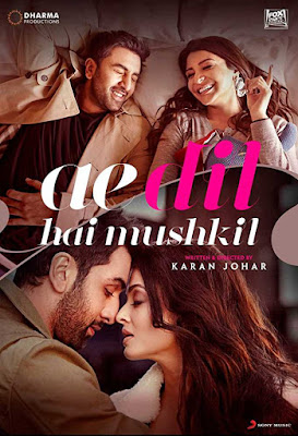 poster Ae Dil Hai Mushkil 2016 Hindi HD 1080p
