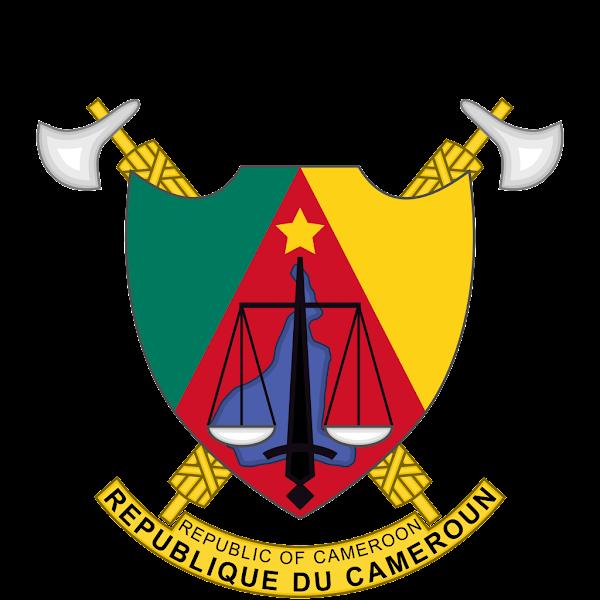 Logo Gambar Lambang Simbol Negara Kamerun PNG JPG ukuran 600 px