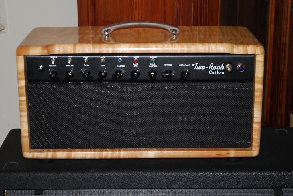 rare two rock guitar amp the wood stratocaster guitar culture stratoblogster. Black Bedroom Furniture Sets. Home Design Ideas