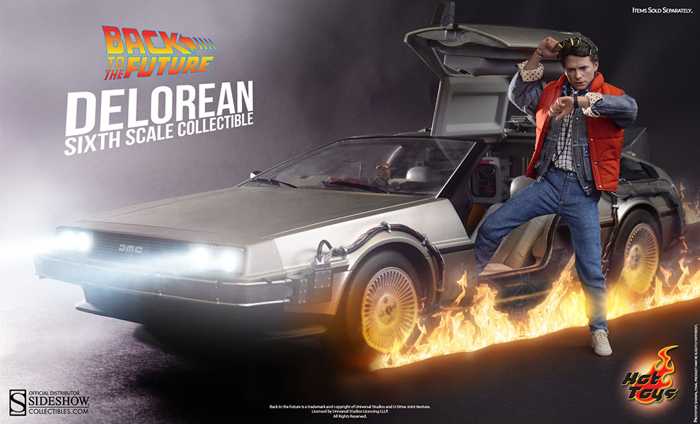 Hot Toys : Back to the Future - DeLorean Time Machine