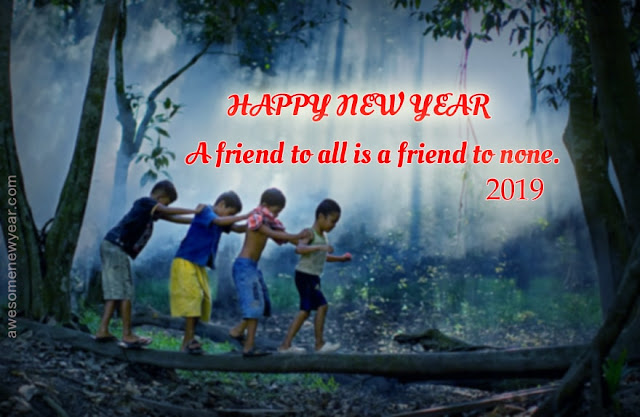 Happy New Year 2019 Quotes to friends