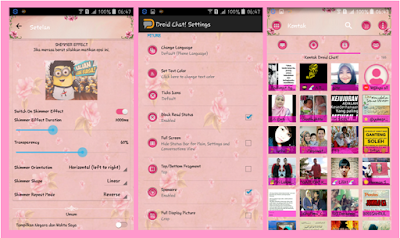 BBM PINK ROSE THEMES NEW V.2.13.1.14 APK