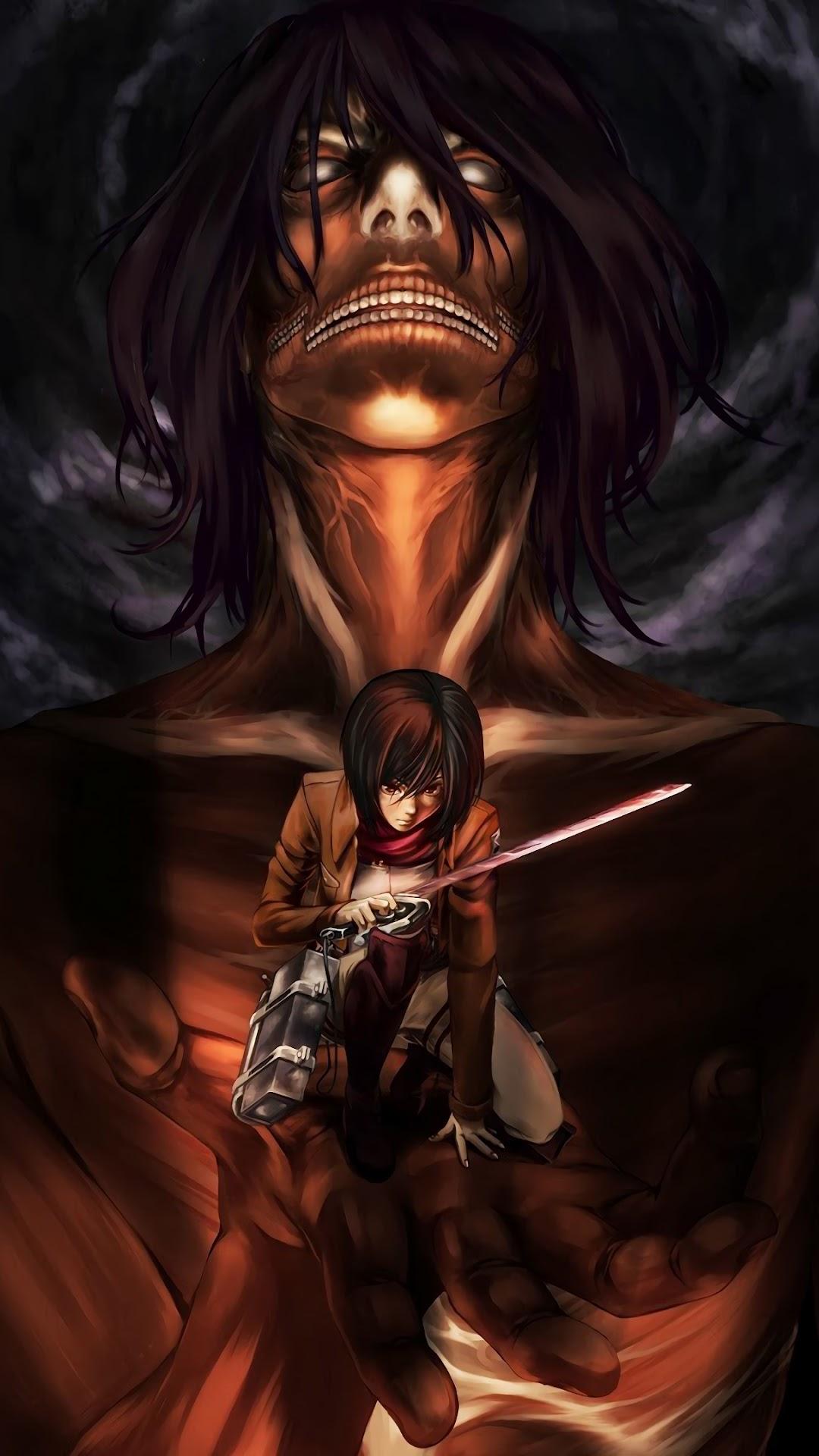 Mikasa Attack Titan Attack On Titan 4k Wallpaper 154