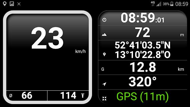 Screenshot Easy Speedometer Pro