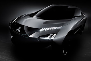 Mitsubishi e-Evolution Concept (2017) Front Side