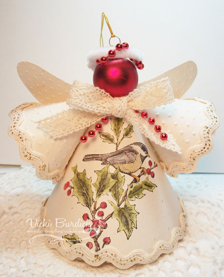 Angel Decorations To Make: It's A Stamp Thing: Christmas Angels