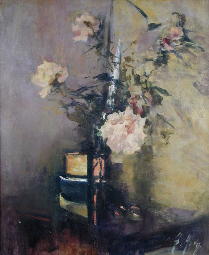 Pink roses. Anna Airy