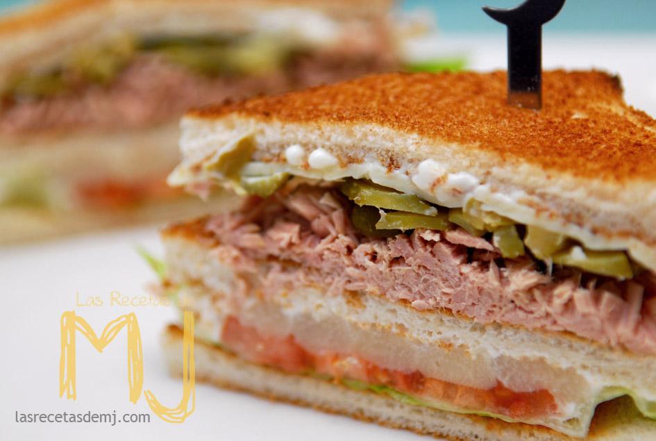 Sándwich Vegetal Con Atún Y Mucho Más Las Recetas De Mj