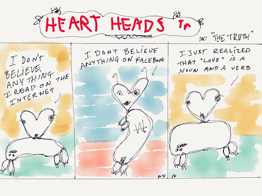 Heart Heads #78 Release The Beast
