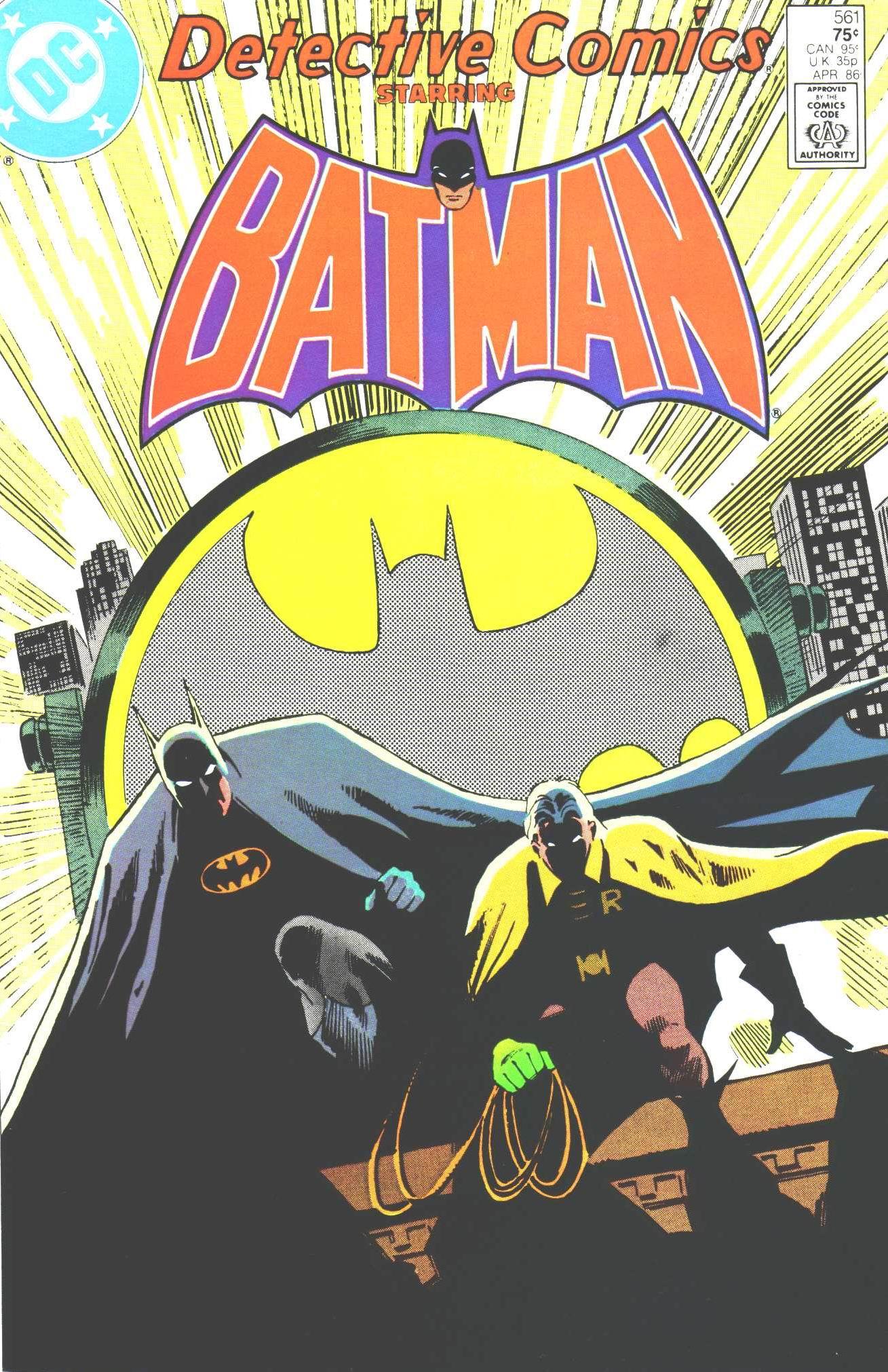 Detective Comics (1937) 561 Page 0
