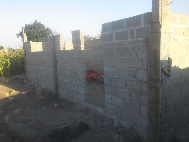 Eternal love church in construction