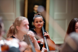 RCM Students At Work (Photo Chris Christodoulou)