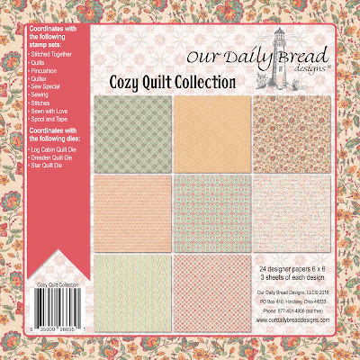 Our Daily Bread Designs Paper Collection - Americana Quilt