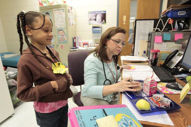 Kentucky Health News School nurses in Fayette cut as