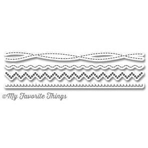 Die-namics Homespun Stitch Lines