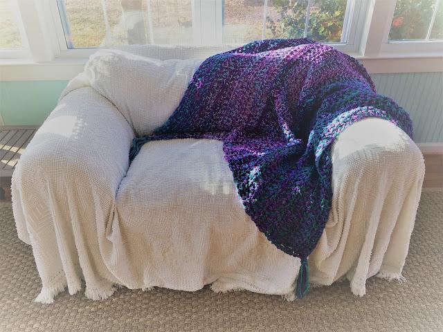 Harris Sisters GirlTalk: Super Thick Stash Busting Crochet Afghan