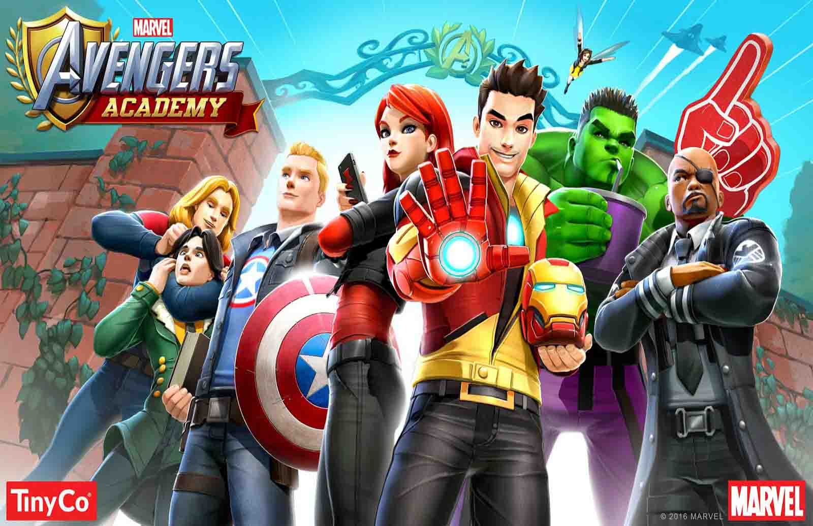 MARVEL Avengers Academy v2 15 0 APK + DATA - Android Game Review