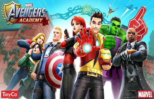 MARVEL%2BAvengers%2BAcademy MARVEL Avengers Academy v1.13.3 APK + DATA Apps