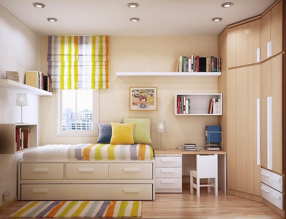25 Desain Kamar Tidur Minimalis Ukuran 3x4 Karya Minimalis
