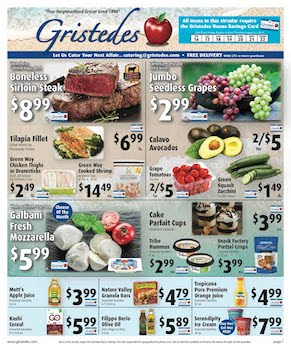 CHECK OUT ROOSEVELT ISLAND GRISTEDES Products, Sales & Specials For August 16 - August 22
