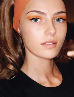 the creation of beauty is art.: orange/yellow 60s inspired ...