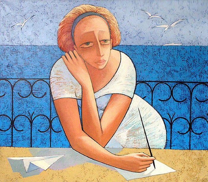 Украинский художник. Viacheslav Koretskiy 9