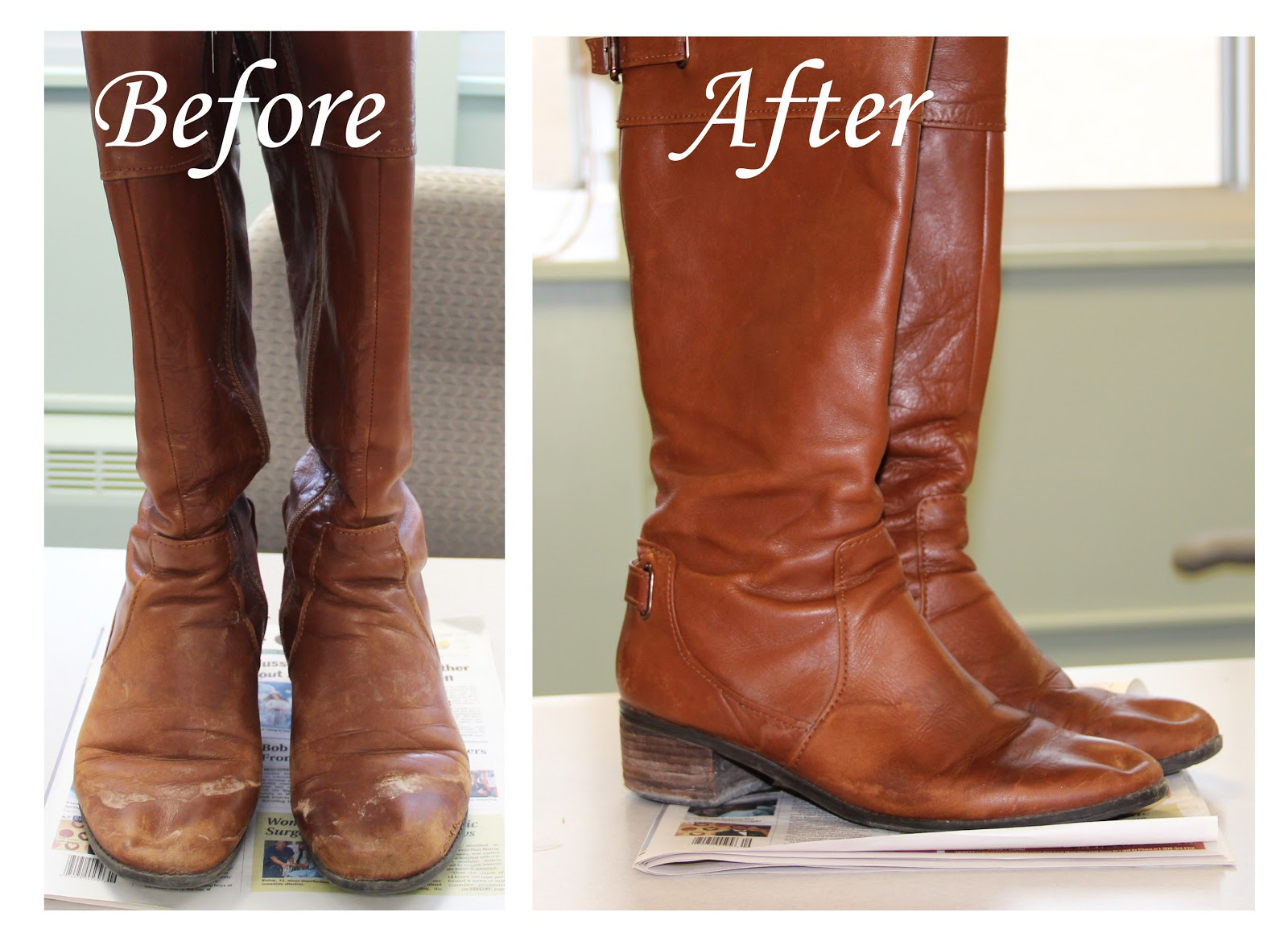 How To Remove White Water Stains From Leather Shoes