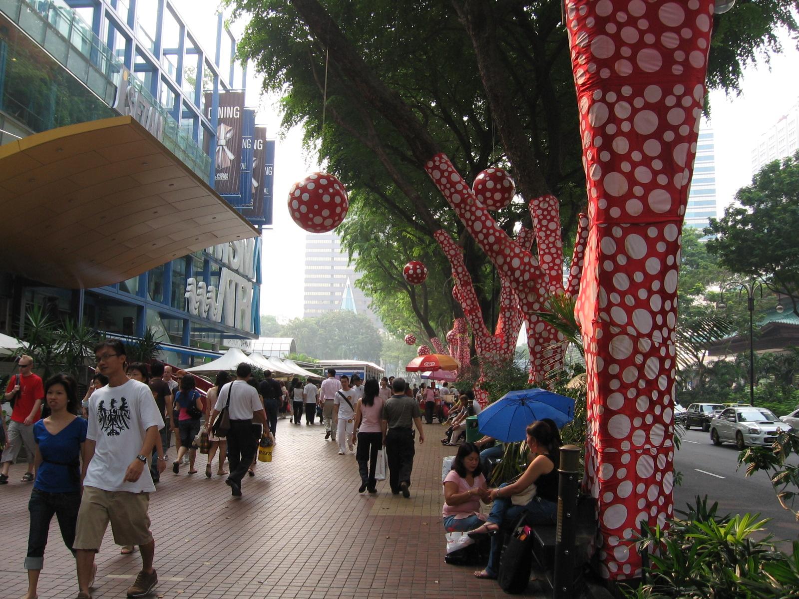 Orchard Road Singapore Travel My Blog
