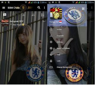 BBM MOD Transparan Chelsea v3.2.0.6 Apk Change Background Terbaru 2016 2