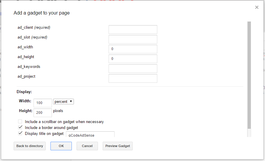 How to add AdSense to Google Sites 13