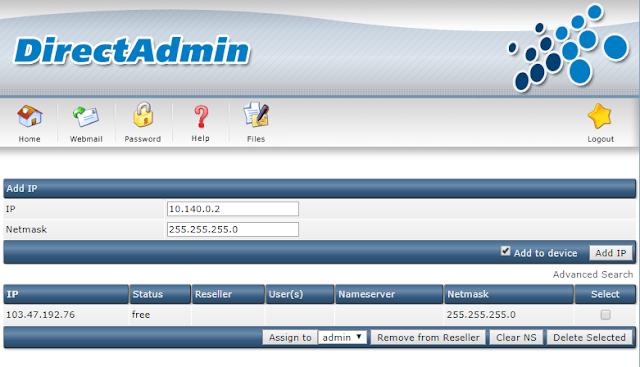Hướng dẫn cài đặt Directadmin trên VPS Google Cloud / AWS