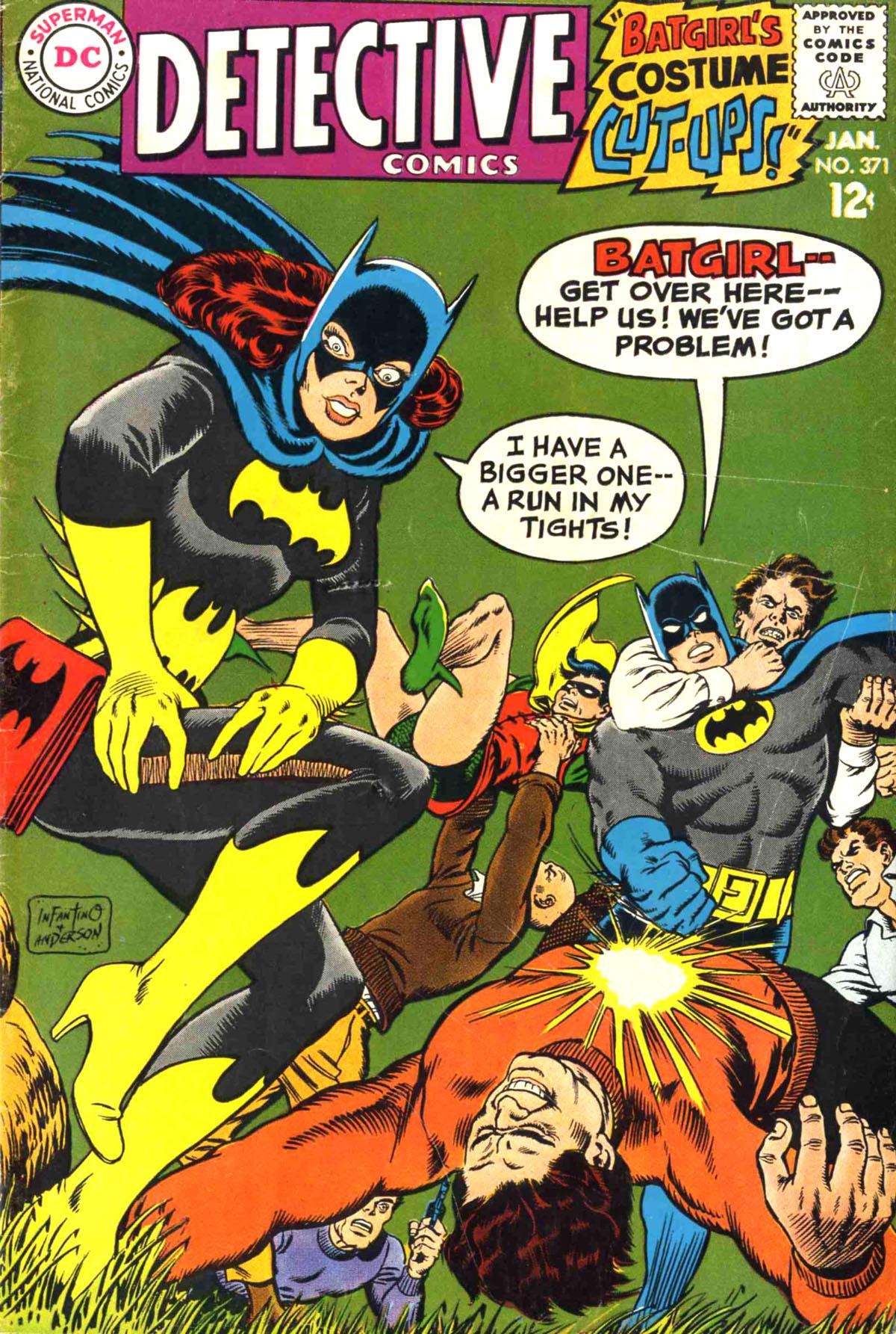 Detective Comics (1937) 371 Page 1