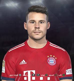 PES 2018 Faces Juan Bernat by Prince Hamiz