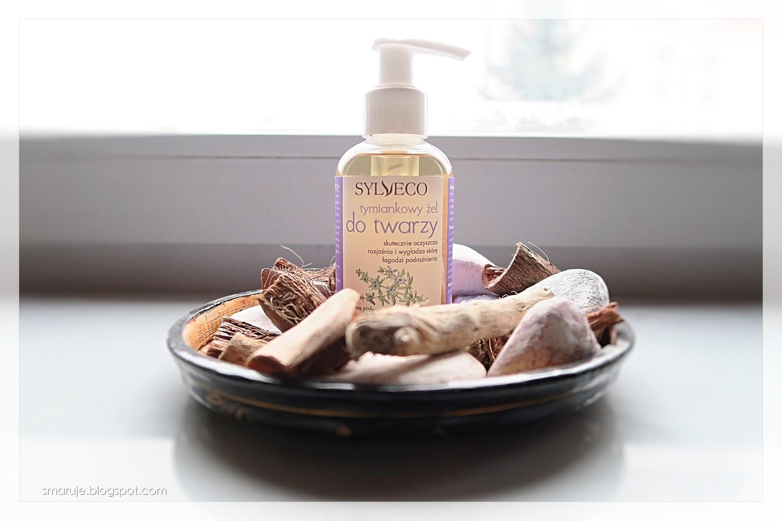 Sylveco –Tymiankowy żel do twarzy, czyli skuteczny żel o zapachu obiadu /recenzja/