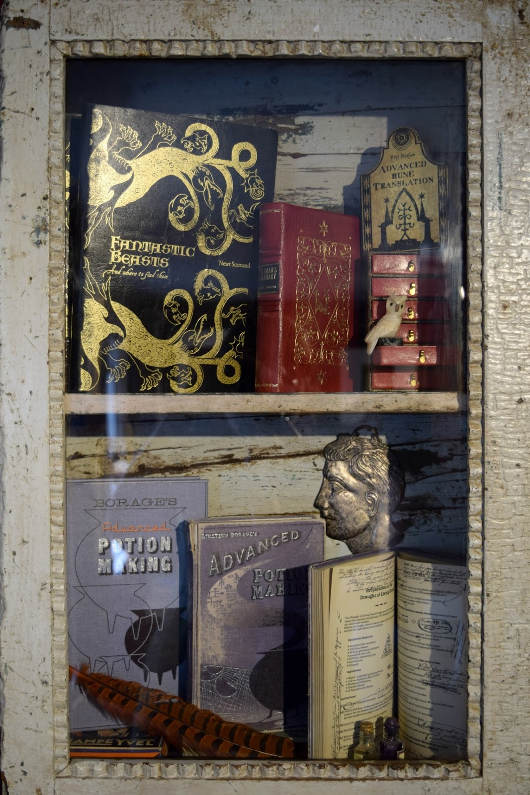 Fantastic Beasts and Where to find them at the house of minalima