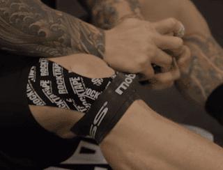 voodoo floss on knee - how to