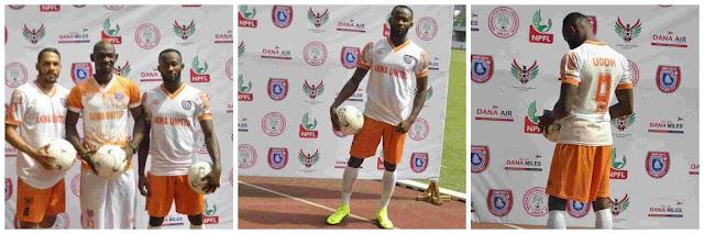 Akwa United Unveils Twelve New Players Ahead Of New Season