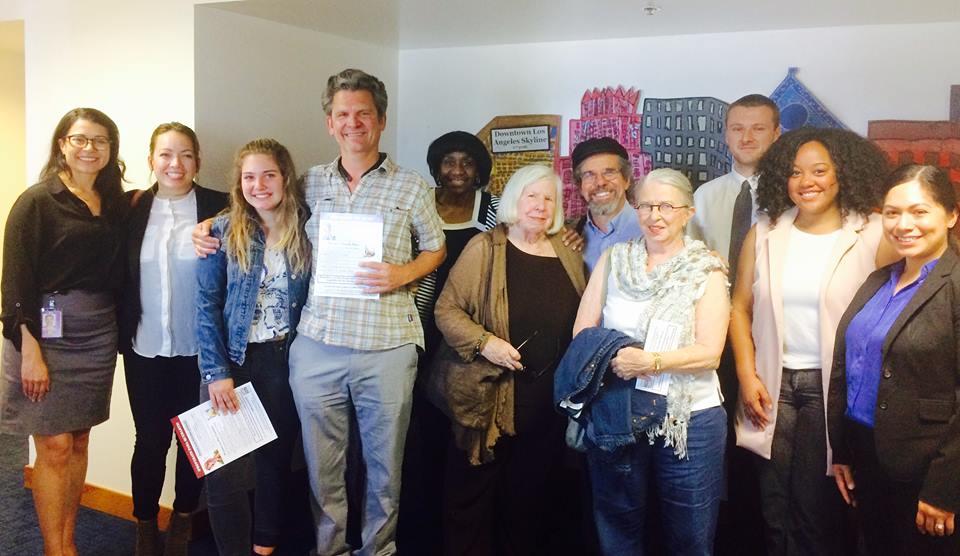 La Quaker Visiting The Office Of Senator Kamala Harris Champion Of Immigrant Rights